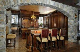 Tudor Style Kitchen Home Interior Design Ideas