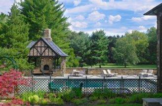 Tudor Style Outdoor Methods Bring Architectural Details