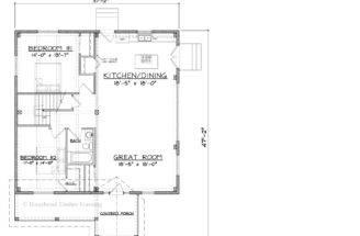 Turnwood Cottage Timber Frame Home Floor Plans