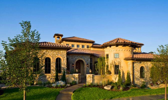 Tuscan Style Home Homes Pinterest