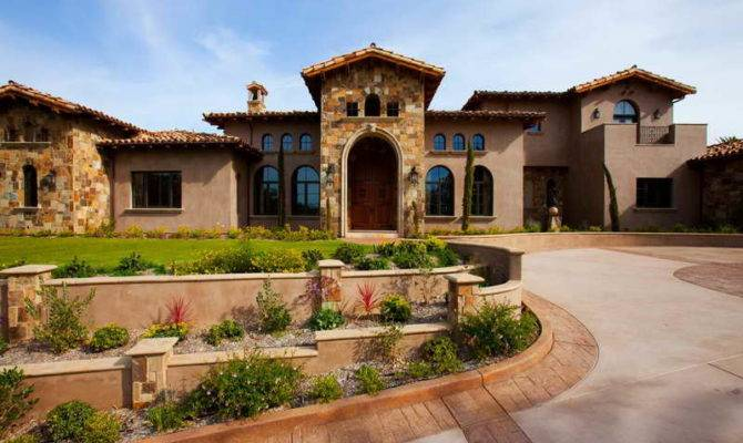 Tuscan Style Homes Plans Fancy