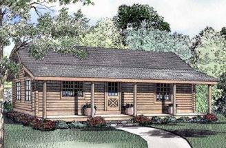 Two Bedroom Log Houses