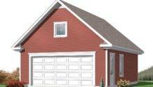 Two Car Garage Plans Detached Plan Loft