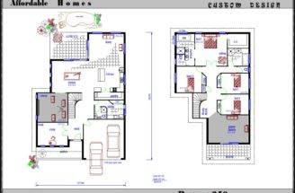 Two Storey Floor Plans Home Design