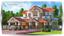 Two Storey Kerala House Designs Keralahouseplanner