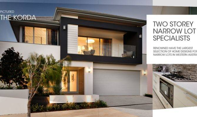 Two Storey Narrow Lot Homes Perth Builder Home Designs. 22 Artistic Narrow Lot 2 Storey Homes Perth   Home Plans
