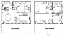 Two Story Floor Plans Unique House