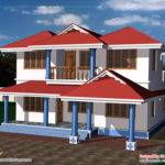 Two Story House Plan Kerala Home Design Floor