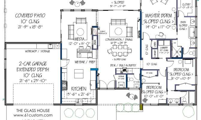 Ultra Modern Floor Plans Contemporary House Plan