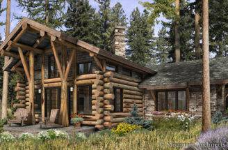 Unique Cabin Plans Telluride Log Plan