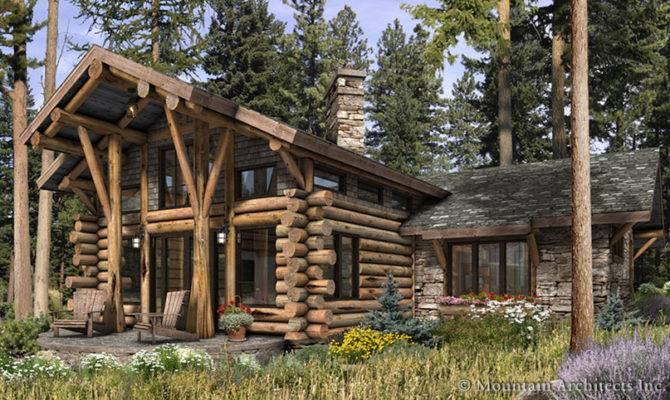 Unique Cabin Plans Telluride Log Plan