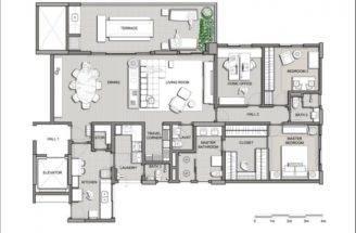 Unique Modern Apartment Plans House Villa