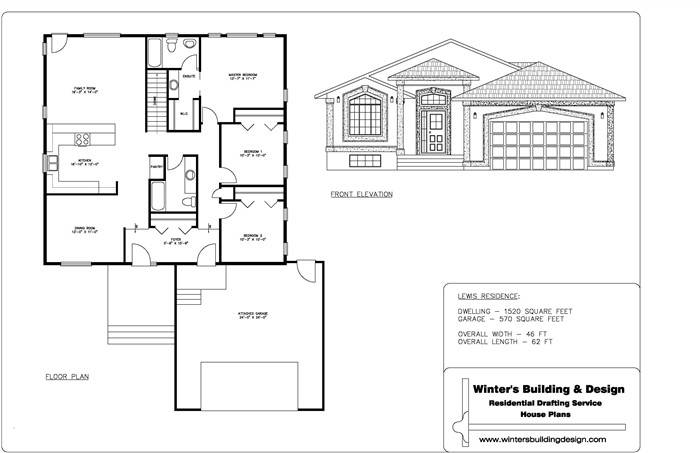 sles of simple house plans - Drawing House Plans
