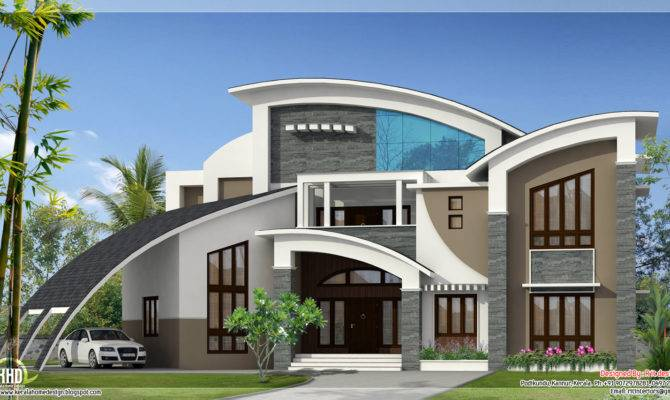 Unique Super Luxury Kerala Villa Home Design Floor
