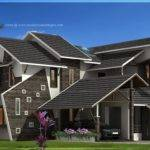 Uniquely Designed House Exterior Indian Plans