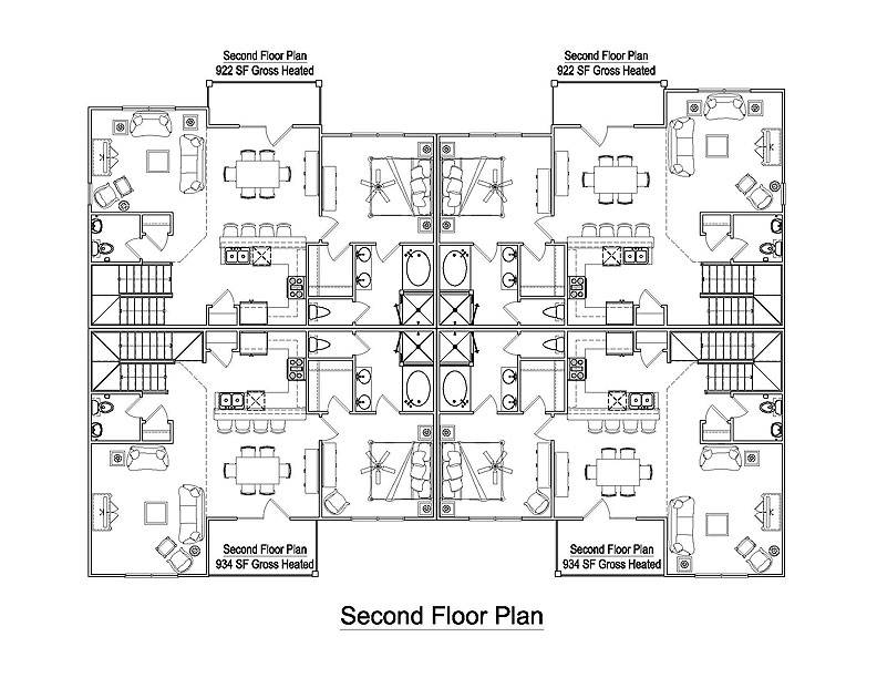 Apartment Building Architectural Plans plain apartment building plans blueprintplanshome ideas picture