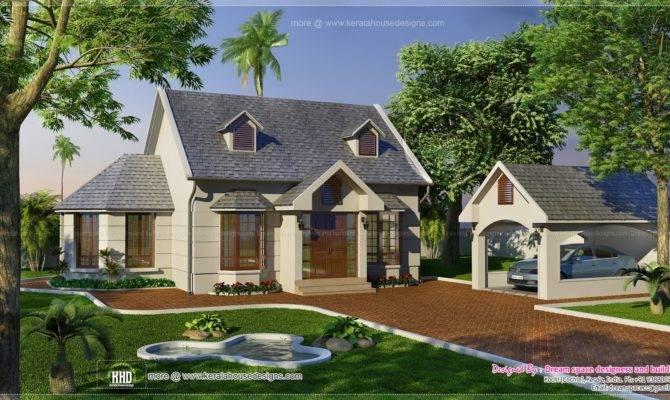Vacation Garden Home Design Feet Kerala