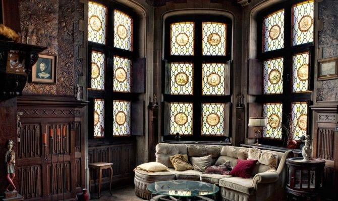 Victorian Gothic Interior Style February