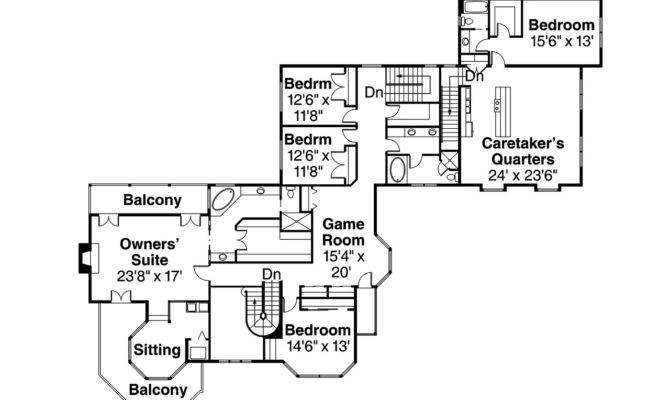 Victorian House Plan Floor