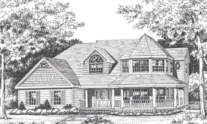 Large victorian house plans