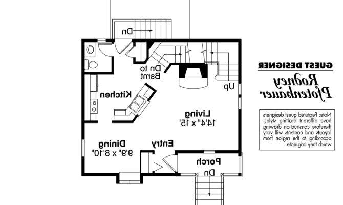 Victorian House Plan Langston First Floor