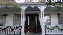 Victorian Parlor Christmas Porch