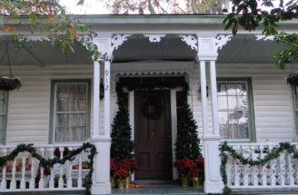 Victorian Parlor Christmas Porch