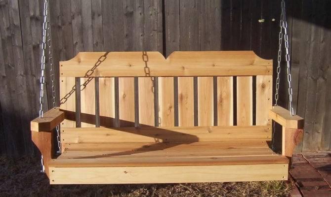 Victorian Porch Swings Cedar Swing