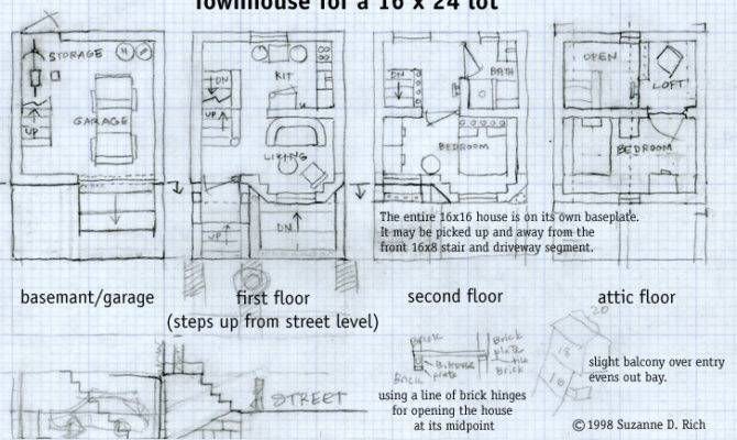 Victorian Townhouse Plans