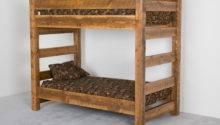 Viking Log Furniture Barnwood Bunk Bed