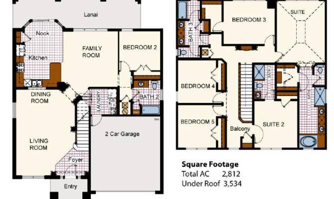 Villa Floor Plans