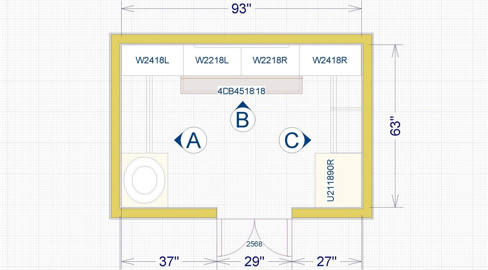 Closet Design Plans. Image 10 Of 16 Click To Enlarge U