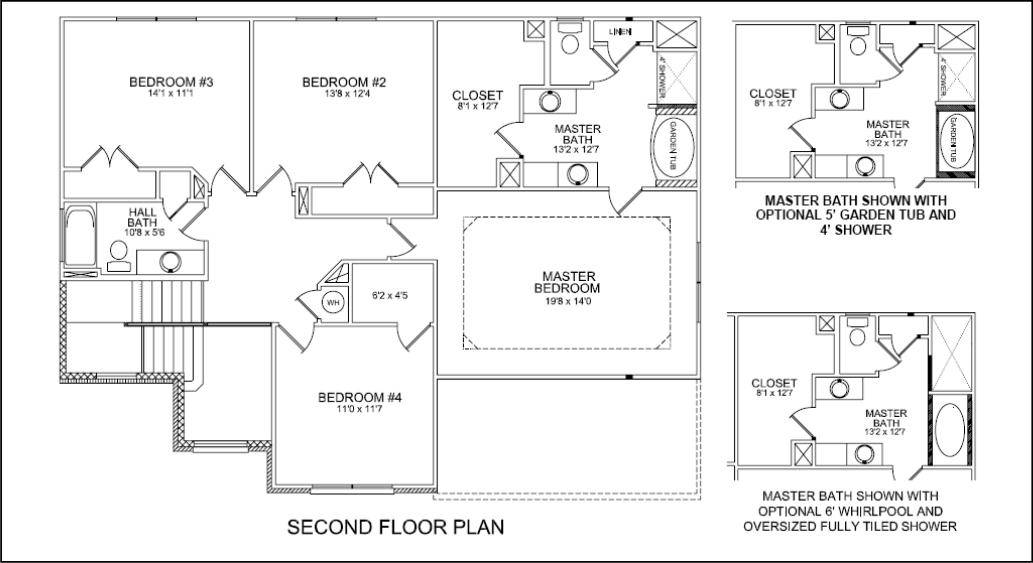 Closet Design Plans. Master Bathroom Floor Plans With Walk In ...