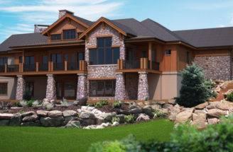 Walk Out Basement Plan Lewisburg Ranch House