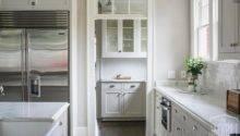 Walk Pantry Doorway Transom Window Transitional Kitchen