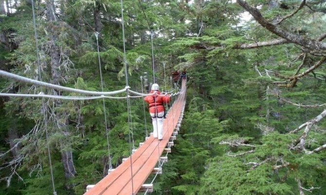 Walk Swinging Bridge Visit Waymarking Search