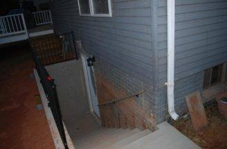 Walkout Basement Before After Floor Much Pool