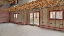 Walkout Basement Constructiuon Construction Inside