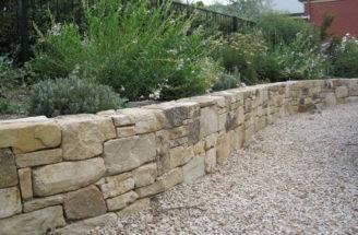 Walls Build Retaining Wall Natural Stone