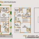 West Facing Bhk Duplex House Plan Yds Latest