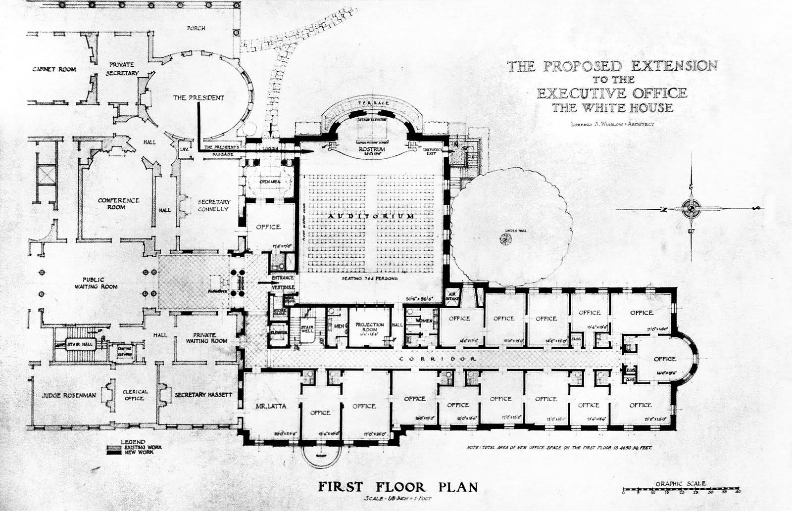 White House Floor Plans Blueprint,House.Home Plans Ideas Picture
