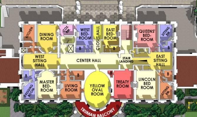 White House Residence Second Floor