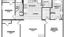 Wide Mobile Home Floor Plans Bedroom Double