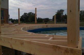 Wood Deck Plans Diy Gazebo Building House