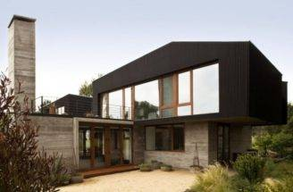 Wood House Designs Modern Architecture Wooden Brick Glass