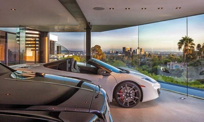 World Architecture Perfect Modern Mansion Beverly Hills