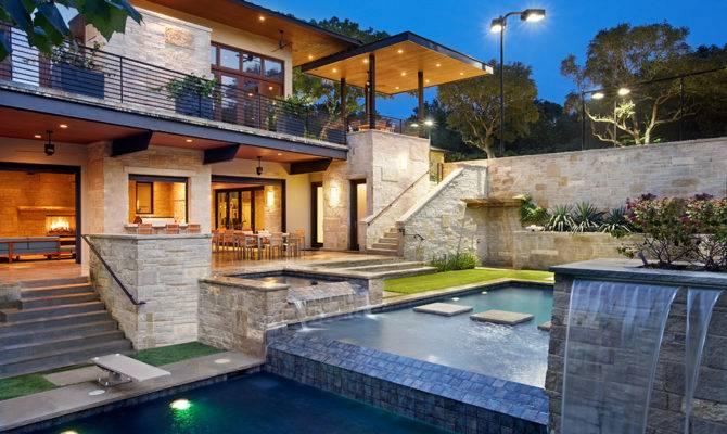 World Architecture Spirit Lake Modern Hillside Home James