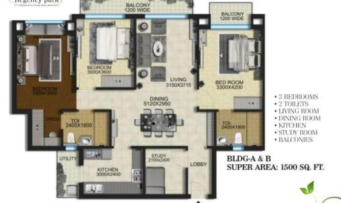 Aarcity Regency Park Floor Plan
