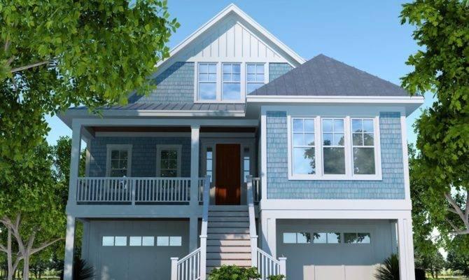 Abigail Cottage Coastal Home Plans