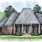 Acadian House Plan Spacious Room Plans